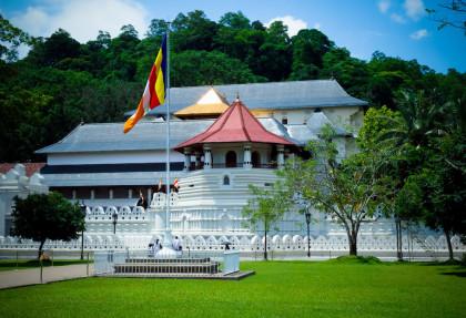 Sri Dalada Maligawa / the Temple of the Sacred Tooth Relic Kandy